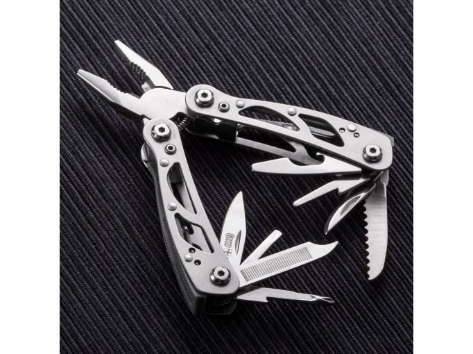 Multitool Locking Pliers With Knife And Scissors Small