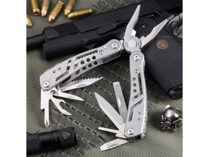 Multitool With Mini Tools Knife Pliers Best Swiss Army